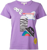 Marc Jacobs graphic print T-shirt - women - Cotton - XS