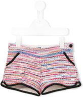 Karl Lagerfeld bouclé knit shorts