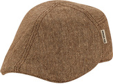 Ben Sherman Men's Pieced Fitted Flat Cap