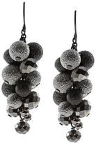Kenneth Cole New! Silvertone Dangle Earrings