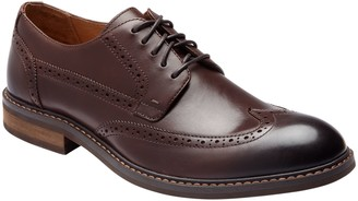 Vionic Men's Leather Lace-Up Brogue Oxfords - Bowery Bruno