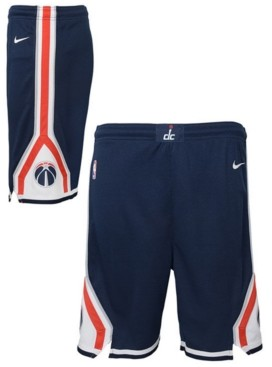 Nike Big Boys Washington Wizards Statement Swingman Shorts