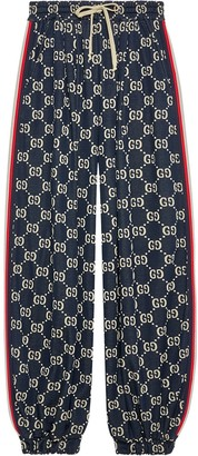 Gucci GG jersey track trousers