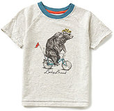 Lucky Brand Little Boys 4-7 Bicycle Bear Short-Sleeve Tee