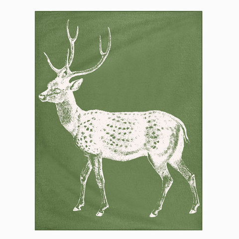 Thomas Paul Deer Throw 50x70 Leaf