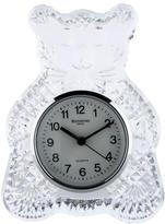 Waterford Crystal Teddy Bear Table Clock