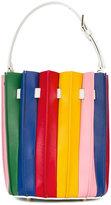 Sara Battaglia 'Plissé Bucket' bag - women - Calf Leather - One Size