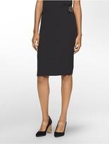 Calvin Klein Buckle Midi Skirt