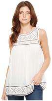Roper 1158 Rayon Crepe Tank Top Women's Sleeveless