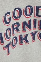 Etoile Isabel Marant Hammer printed cotton-blend sweatshirt