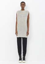 Rick Owens pearl sleeveless tunic
