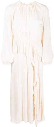 Ulla Johnson Asymmetric Gathered Dress