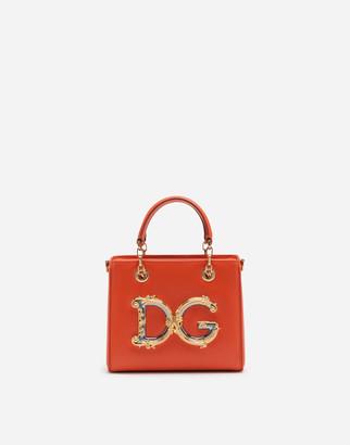Dolce & Gabbana Small Girls In Calfskin
