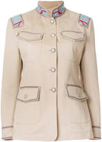 Ermanno Scervino single breasted military jacket