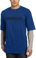 Caterpillar Men's Thermal Layered Long Sleeve Tee