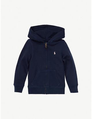 Ralph Lauren Logo-embroidered cotton-blend hoody 2-14 years