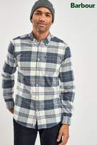 Mens Barbour Blue Highland Check Shirt - Blue