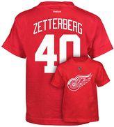 Reebok Boys 8-20 Detroit Red Wings Henrik Zetterberg Premier Tee