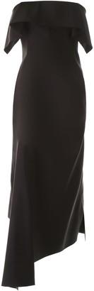 Lanvin Asymmetrical Bustier Dress