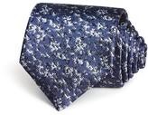 Lanvin Flou Woven Silk Classic Tie