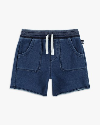 Splendid Little Boy Indigo Brushed French Terry Short