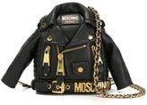 Moschino biker jacket crossbody bag