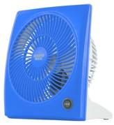 """Sharper Image 9"""" 2-Speed Table Top Fan - Blue"""