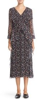 Jason Wu Women's Mayflower Floral Print Silk Dress