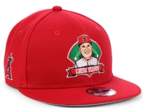 New Era Big Boys Mike Trout Los Angeles Angels Lil Player 9FIFTY Snapback Cap