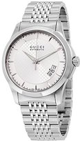 Gucci Men's G-Timeless YA126417 Stainless-Steel Swiss Quartz Watch