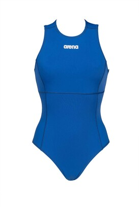 Arena Women's Solid Waterpolo One Piece Swimsuit