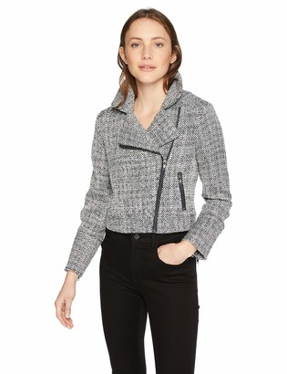 Cupcakes And Cashmere Women's Gema Tweed Moto