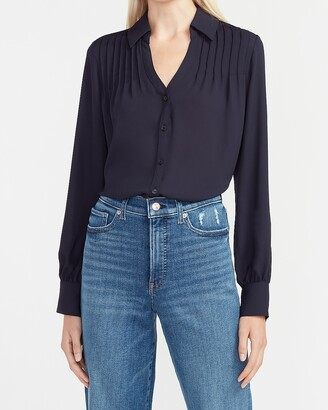 Express Pleated Portofino Shirt