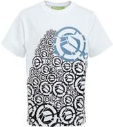 DuFFS Boys Printed T-Shirt White
