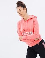 adidas Women's Essentials Linear Pullover Hoodie