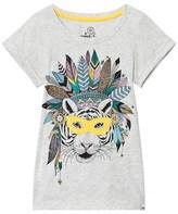 Animal Grey Tigress Graphic Tee