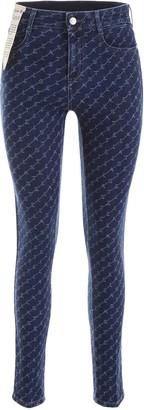 Stella McCartney Monogram Skinny Jeans