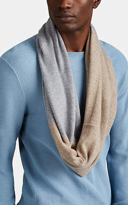 Barneys New York Men's Cashmere Infinity Scarf - Gray