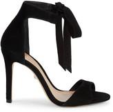 Schutz Rene Tie Ankle Suede Sandals