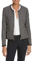 Rebecca Taylor Women's Graphic Tweed Jacket