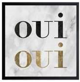 Oliver Gal Framed Girl's Favorite Word Print