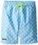 Toobydoo Ikat Aqua Swim Shorts (Infant/Toddler/Little Kids/Big Kids)