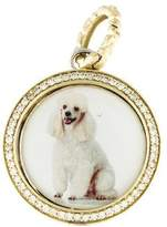 Hellmuth Diamond Dog Pendant
