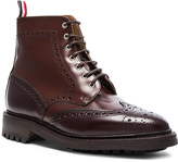 Thom Browne Leather Classic Wingtip Boots