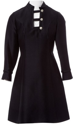 Non Signã© / Unsigned Black Wool Dresses