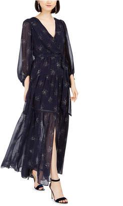 Eliza J Glitter-Star Maxi Dress