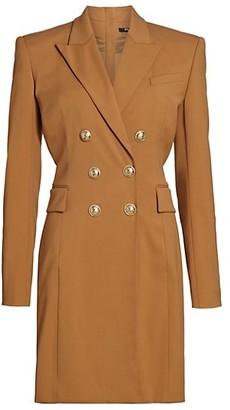 Balmain Double Breasted Jacket Dress