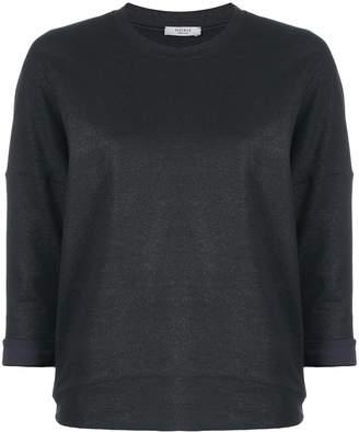Peserico 3/4 sleeve sweatshirt
