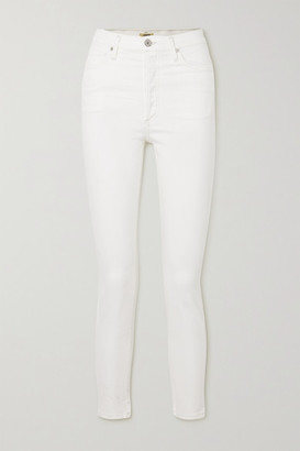 Citizens of Humanity Olivia High-rise Skinny Jeans - White