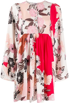 By Ti Mo Floral Shift Dress